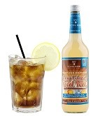 Long Island Iced Tea Flasche 0,7l und Cocktail fertig im Glas